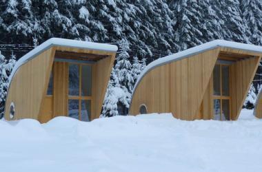 eco lodge hiver