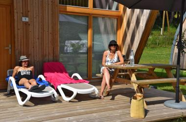 eco lodge bifamille ete
