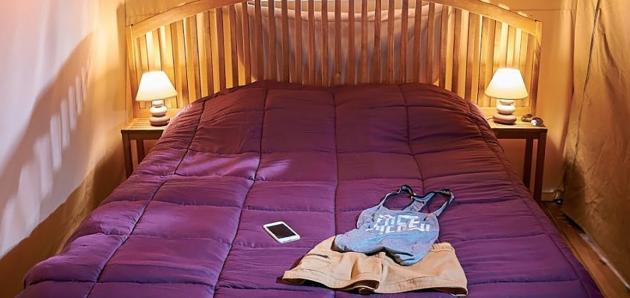Tente VINTAGE  chambre 1